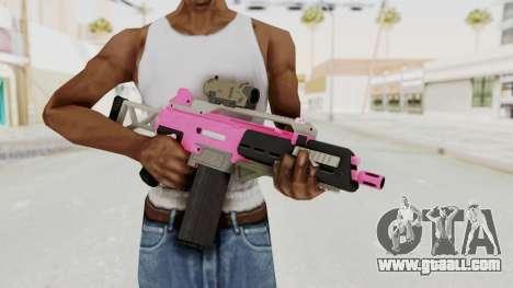 Special Carbine Pink Tint for GTA San Andreas third screenshot