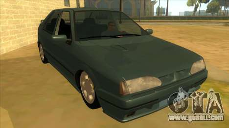 Renault 19 Coupe for GTA San Andreas back view