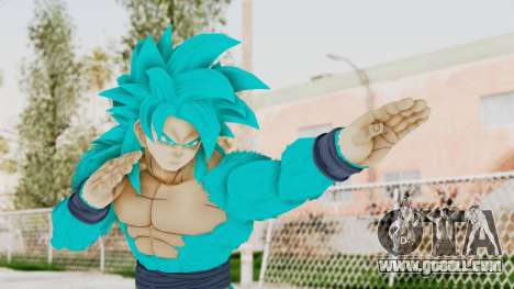 Dragon Ball Xenoverse Goku SSJ4 SSGSS for GTA San Andreas