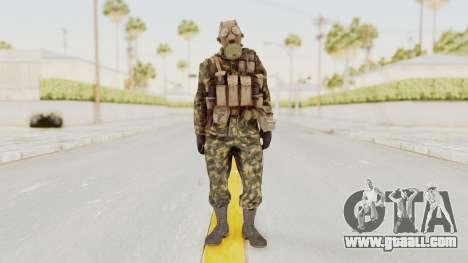 COD Black Ops Russian Spetznaz v6 for GTA San Andreas second screenshot
