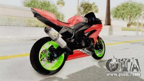 Kawasaki Ninja ZX-6R Boy from Anak Jalanan for GTA San Andreas right view