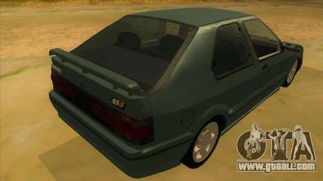 Renault 19 Coupe for GTA San Andreas right view