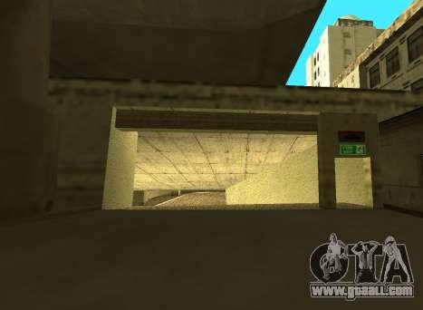 LSPD New Garage for GTA San Andreas second screenshot