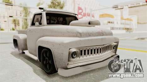 GTA 5 Slamvan Lowrider for GTA San Andreas