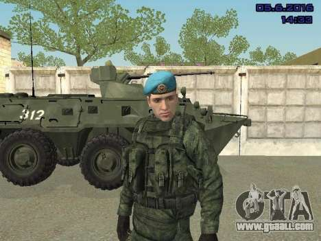 Modern Russian Soldiers pack for GTA San Andreas tenth screenshot