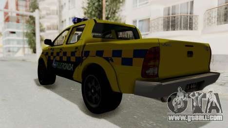 Toyota Hilux Expressway Patrol for GTA San Andreas left view