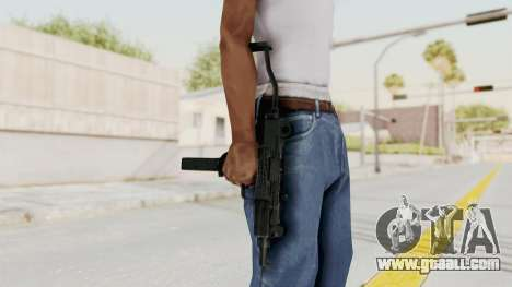 IMI Mini Uzi v2 for GTA San Andreas third screenshot