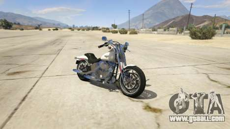 Harley-Davidson FXSTS Springer Softail for GTA 5