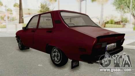 Dacia 1310 TX Realistica for GTA San Andreas back left view