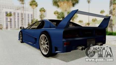 Turismo Fulmine for GTA San Andreas right view