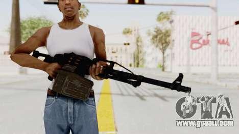 PKM 7.62mm Battlezone Mod for GTA San Andreas third screenshot