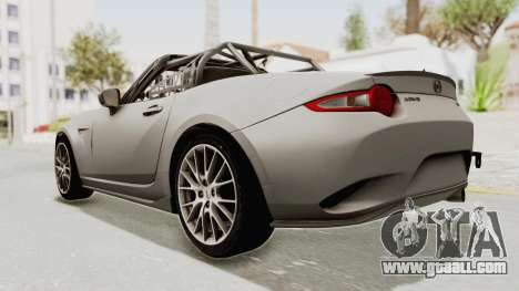 Mazda MX-5 Cup 2015 v2.0 for GTA San Andreas left view