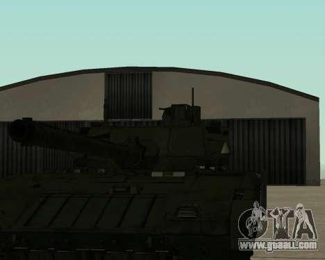 T-14 Armata for GTA San Andreas engine