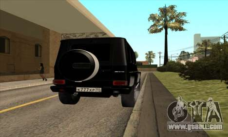 Mercedes G63 Biturbo for GTA San Andreas right view