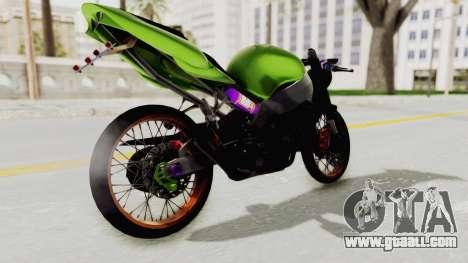 Kawasaki Ninja ZX-9R Drag for GTA San Andreas left view