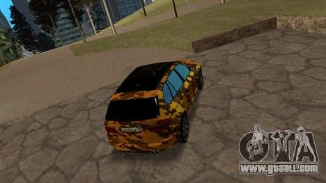 BMW X5M ( Davidich ) for GTA San Andreas right view