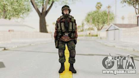 Battery Online Russian Soldier 9 v1 for GTA San Andreas second screenshot