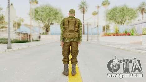 MGSV The Phantom Pain Soviet Union Vest v2 for GTA San Andreas third screenshot