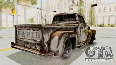GTA 5 Slamvan Lowrider PJ2 for GTA San Andreas inner view