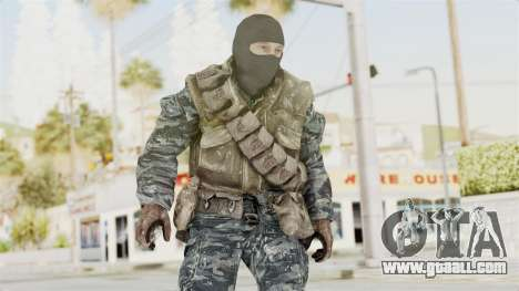 COD BO Russian Spetznas Flak MP v1 for GTA San Andreas