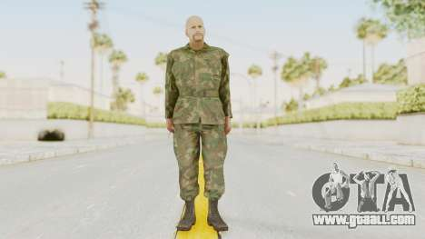 MGSV Ground Zeroes US Soldier No Gear v2 for GTA San Andreas second screenshot