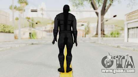 Mortal Kombat X Klassic Noob Saibot for GTA San Andreas third screenshot