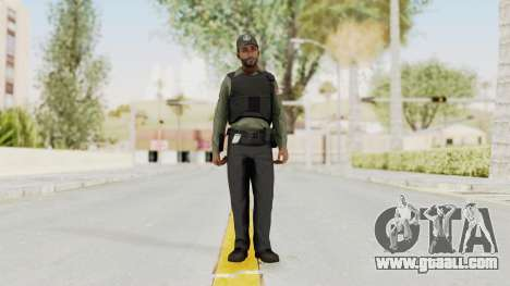 GTA 5 Security Man for GTA San Andreas second screenshot
