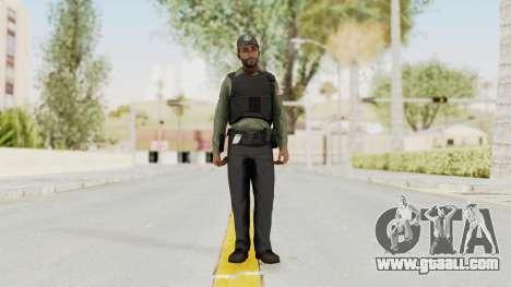 GTA 5 Security Man for GTA San Andreas second screenshot