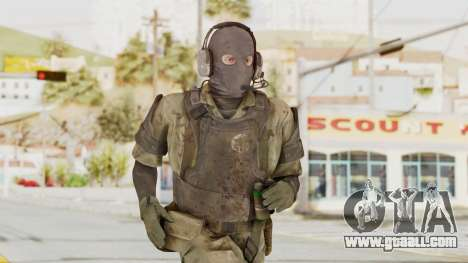 MGSV Phantom Pain Wandering MSF Mosquite for GTA San Andreas