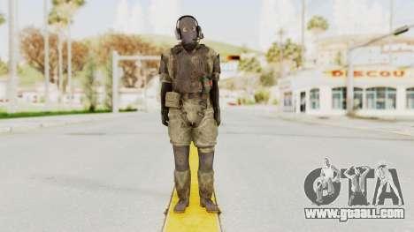 MGSV Phantom Pain Wandering MSF Mosquite for GTA San Andreas second screenshot