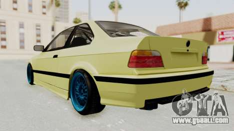 BMW M3 E36 Drift for GTA San Andreas back left view