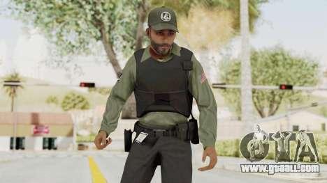 GTA 5 Security Man for GTA San Andreas