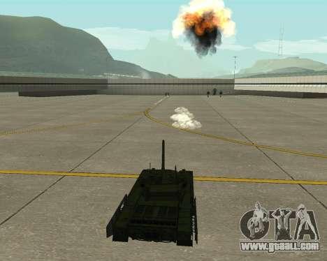 T-14 Armata for GTA San Andreas upper view