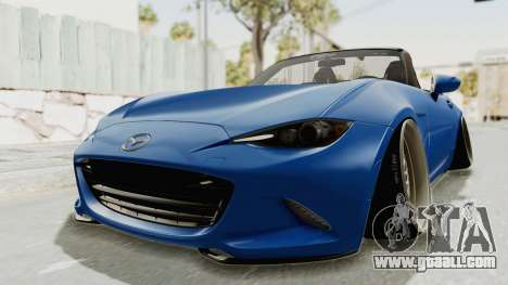 Mazda MX-5 Slammed for GTA San Andreas right view