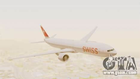 Boeing 777-300ER Swiss International Air Lines for GTA San Andreas
