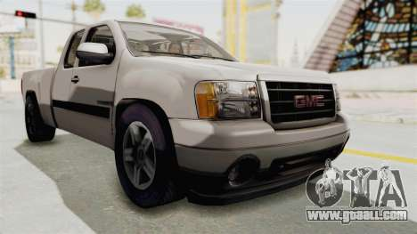 GMC Sierra 2010 for GTA San Andreas right view