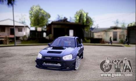 Subaru impreza WRX STi LP400 v2 for GTA San Andreas