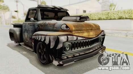 GTA 5 Slamvan Lowrider PJ2 for GTA San Andreas
