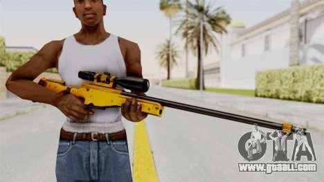 L96A1 Gold for GTA San Andreas third screenshot