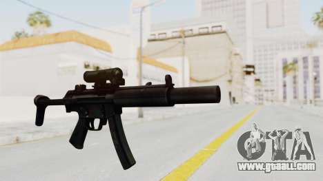 MP5SD for GTA San Andreas second screenshot