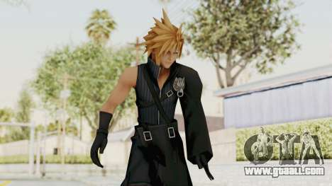 Kingdom Hearts 2 - Cloud Strife for GTA San Andreas