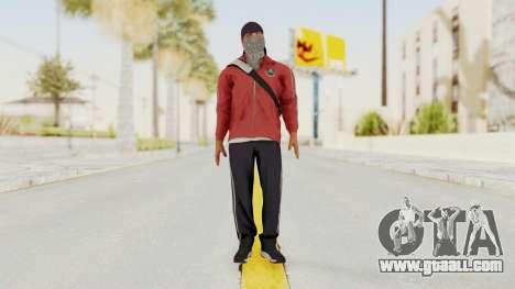 Battlefiled Hardline Professional Gang for GTA San Andreas second screenshot