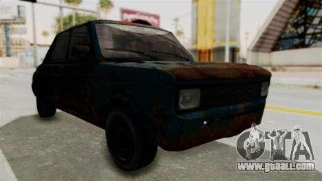 Zastava 1100 Rusty for GTA San Andreas right view