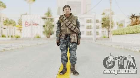COD BO Russian Spetznas Flak MP v3 for GTA San Andreas second screenshot