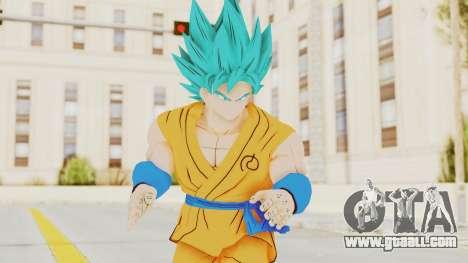 Dragon Ball Xenoverse Goku SJ for GTA San Andreas