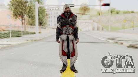AC Brotherhood - Ezio Auditore Seusenhofer Armor for GTA San Andreas second screenshot