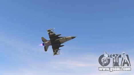 GTA 5 F-16C Block 52 fifth screenshot