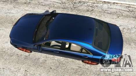 GTA 5 Mercedes-Benz S500 (W222) [yokohama] v2.1 back view