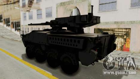 M1128 Mobile Gun System for GTA San Andreas right view