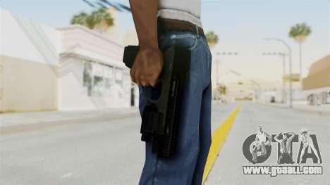 Killzone - M4 Semi-Automatic Pistol No Attach for GTA San Andreas third screenshot